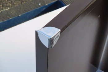 ALU-Dachstein 40_Außenfensterbänke_Eckdicht_Butylpflaster_aufgeklebt